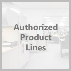 Authorized Product Lines