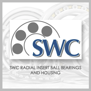 SWC RADIAL INSERT BALL BEARINGS AND HOUSING